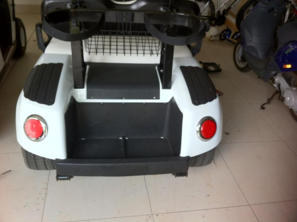 X2 Golf Buggy Rear After