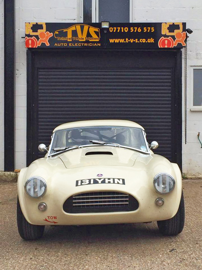 Very Very Nice Original AC Cobra FIA Historic Racecar