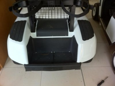 X2 Golf Buggy Rear Before