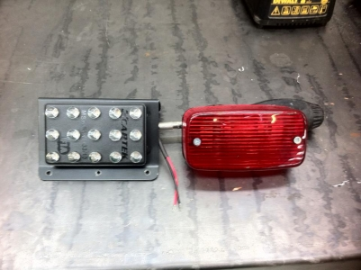 FIA Rain Light Vs Original Rain Light From GT40