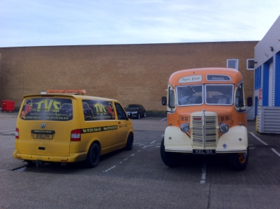 Bedford Coach Retrofit Tachograph System