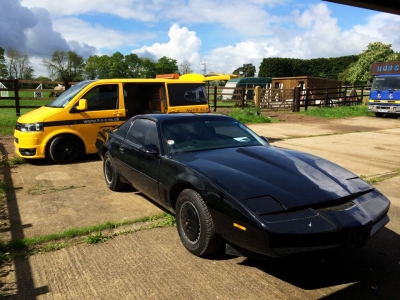 Pontiac Firebird Knight Rider Kitt Car