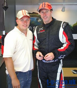 Ralph with Colin McRae